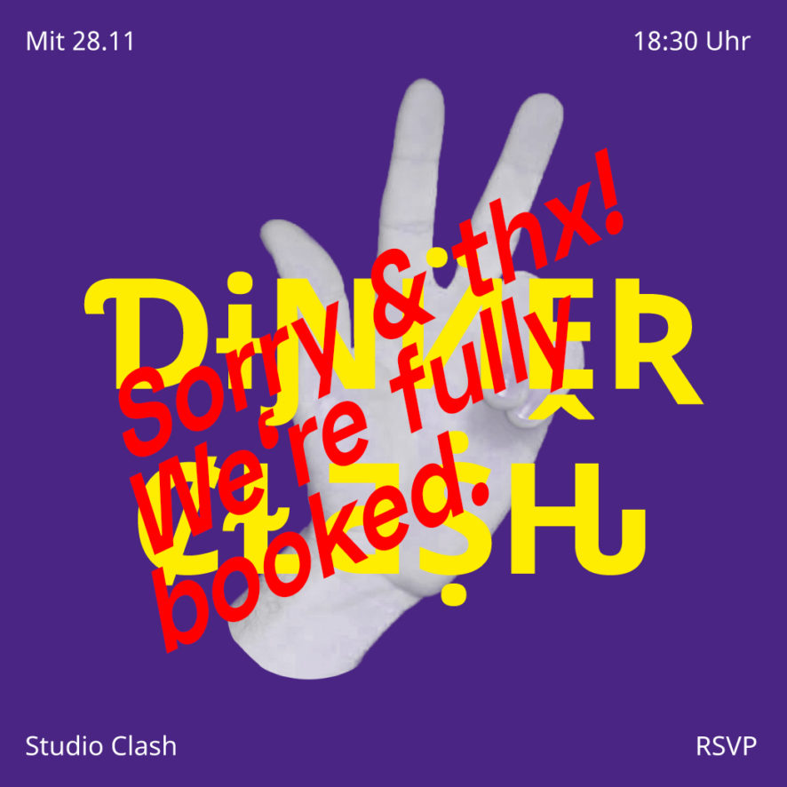 Der letzte Dinner Clash by Studio Clash